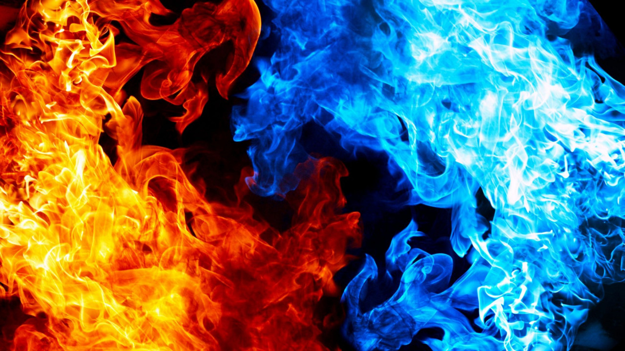 Blue fire, Red fire, No fire